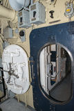Submarine open door port hole Royalty Free Stock Photos