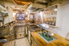 Submarine preparation room Stock Image