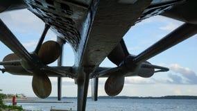 Submarine - Propeller - silhouette Stock Photography