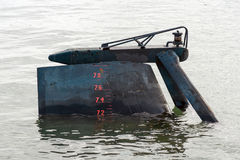 Submarine rudder. Stock Images