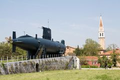 Submarine S513 Enrico Dandolo Stock Photography