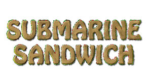 Submarine Sandwich Royalty Free Stock Photos