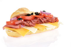 Submarine sandwich Stock Image