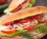 Submarine Sandwich Stock Image
