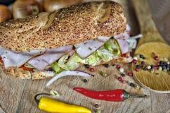 Submarine sandwich Royalty Free Stock Photos