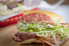 Submarine Sandwich Stock Images