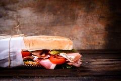 Submarine sandwich Stock Photography