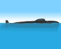 Submarine at sea Stock Images