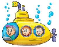 Submarine theme image 1 Royalty Free Stock Photo