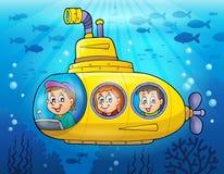 Submarine theme image 3 Stock Photo