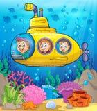 Submarine theme image 2 Royalty Free Stock Photos