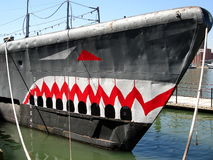 Submarine Torsk in Baltimore Inner Harbor Stock Photography