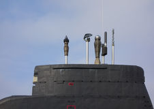 Submarine tower Royalty Free Stock Photography