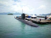 Malaysian submarine-tun razak royalty free stock photography