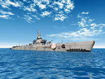Submarine USS Trigger Royalty Free Stock Photos