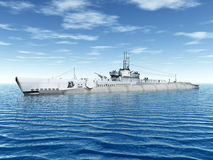 Submarine USS Trigger Stock Image