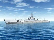 Submarine USS Trigger Stock Image