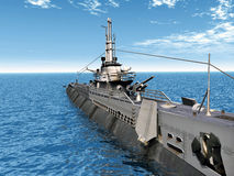 Submarine USS Trigger Royalty Free Stock Photography