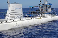 Submarine. This submarine very good for any kind of manipulation Royalty Free Stock Image