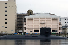 Submarine, Yokosuka, Japan stock photography