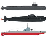 submarines Obraz Royalty Free