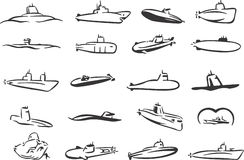 Submarines Stock Photos