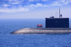Submarino Fotografía de archivo