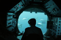 Submarino Fotos de archivo libres de regalías