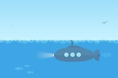 submarino Foto de archivo libre de regalías