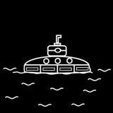 submarino Fotos de Stock Royalty Free