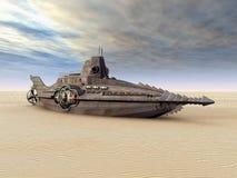 Submarino da fantasia ilustração royalty free