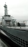 Submarino de Pampanito Imagem de Stock