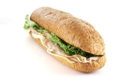 Submarino de Turquia e de queijo Imagem de Stock Royalty Free