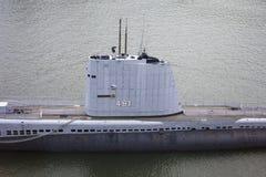 SUBMARINO DE USS REQUIN Foto de Stock