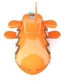 submarino Desenho-denominado Imagens de Stock