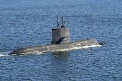 Submarino HMS Västergötland foto de archivo