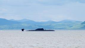 submarino Multi-nuclear del proyecto 971 foto de archivo libre de regalías