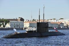 Submarino ruso Fotos de archivo