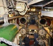 Submarino U-434 - sitio del torpedo foto de archivo