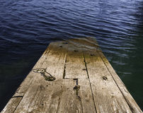 Submerged Dock Stock Photography