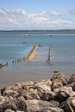 Submerged jetty Royalty Free Stock Photography