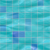 Submerged tiles Royalty Free Stock Image