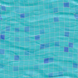 Submerged tiles Royalty Free Stock Images
