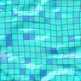 Submerged tiles big blue Stock Photos