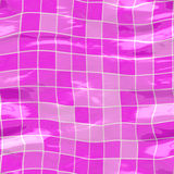Submerged tiles big pink Royalty Free Stock Image