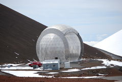 submillimeter caltechobservatorium Arkivfoton