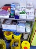 Subministros médicos Fotografia de Stock