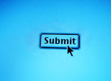 Submit button Royalty Free Stock Photography
