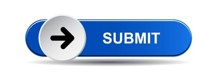 Free Submit Button Blue Royalty Free Stock Images - 121193329
