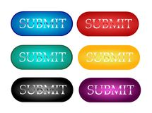 Submit buttons Stock Image